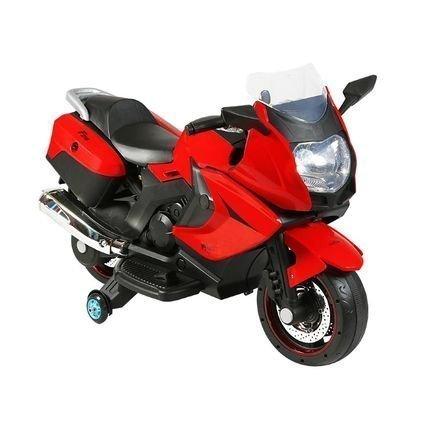 Электромотоцикл BMW K1200GT Red 12V - XMX-316 (колеса резина, кресло кожа, музыка, ручка газа)